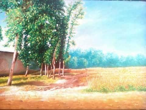 The Farm Painting